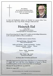Heinrich Eisl