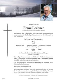 Franz Lechner
