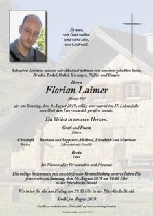 """Florian Laimer """"Wetzler Flo"""""""