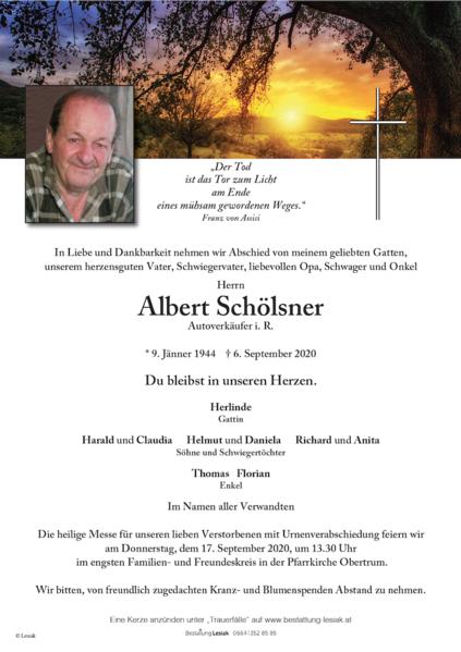 Albert Schölsner
