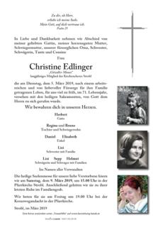 """Christine Edlinger """"Gitzoller Mausi"""""""