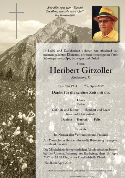 Heribert Gitzoller