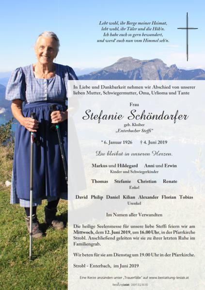 Stefanie Schöndorfer