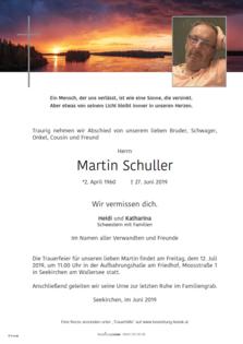 Martin Schuller