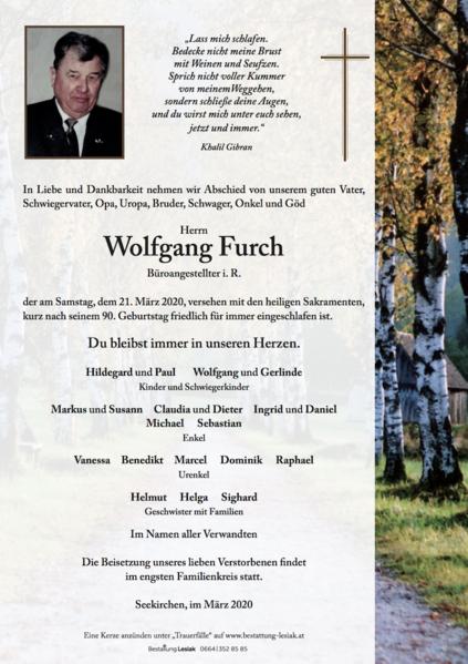 Wolfgang Furch