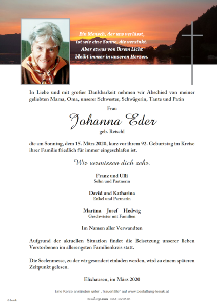 Johanna Eder