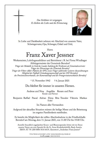 Franz Xaver Jessner
