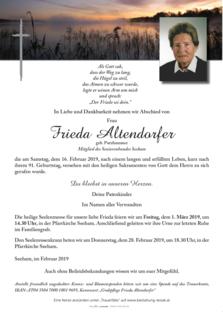 Frieda Altendorfer