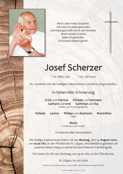 Josef Scherzer
