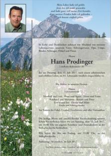Johann Prodinger