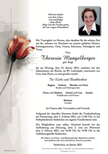 Theresia Mangelberger