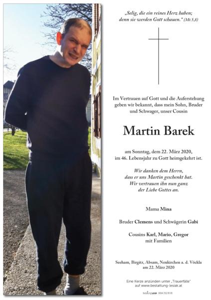 Martin Barek