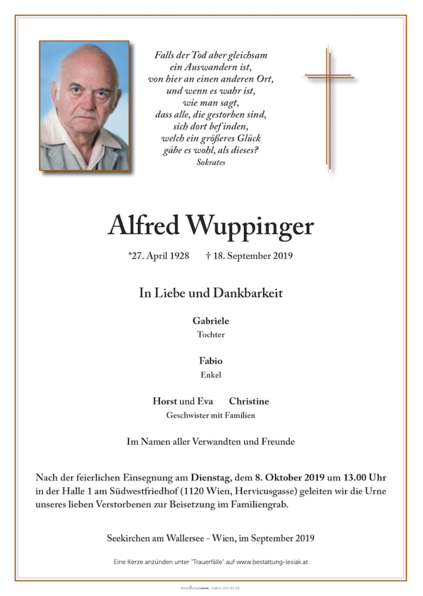 Alfred Wuppinger