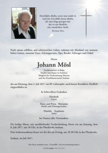 Johann Mösl