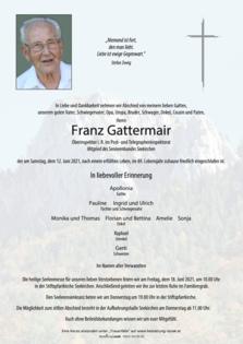Franz Gattermair