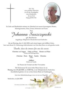 Johanna Suszczynski