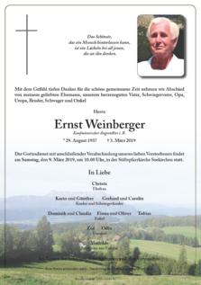 Ernst Weinberger