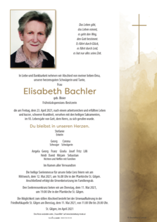 Elisabeth Bachler