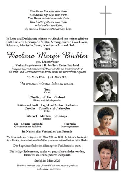 Barbara Margit Bichler