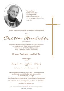 Christine Steinbichler