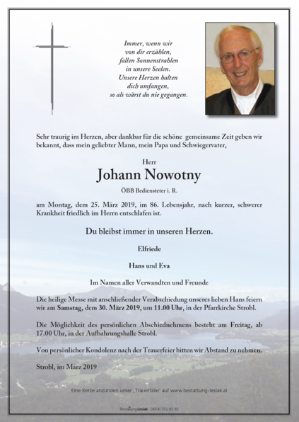 Johann Nowotny