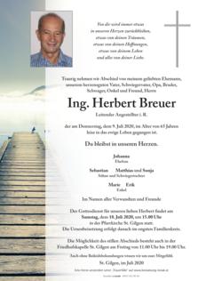 Ing. Herbert Breuer