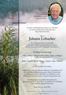 Johann Lebacher