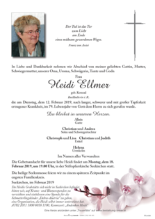 Heidi Ellmer