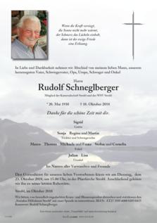 Rudolf Schneglberger