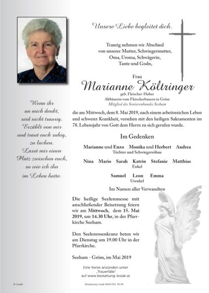 Marianne Költringer