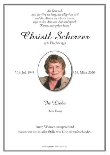 Christl Scherzer