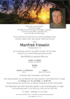 Manfred Frewein