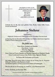 Johannes Stehrer