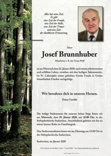 Josef Brunnhuber