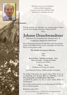 Johann Draschwandtner