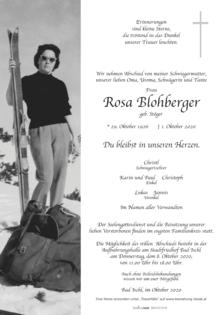 Rosa Blohberger