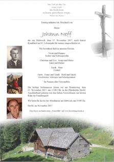 Johann Neff