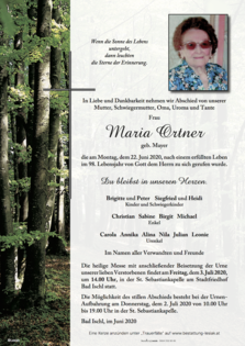Maria Ortner
