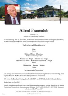 Alfred Frauenlob