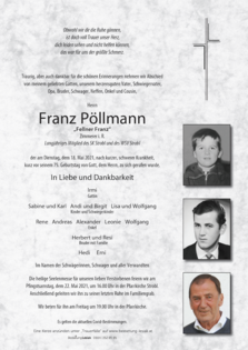 Franz Pöllmann