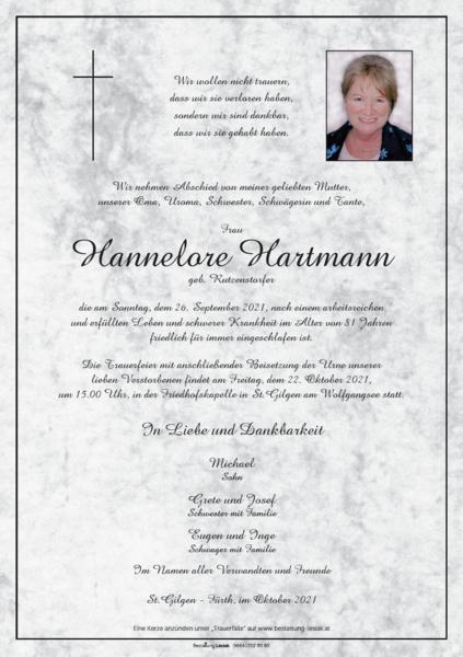 Hannelore Hartmann