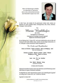 Maria Winklhofer