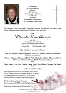 Elfriede Kriechhamer