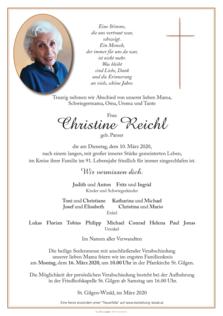 Christine Reichl