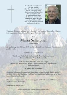Maria Scheibner