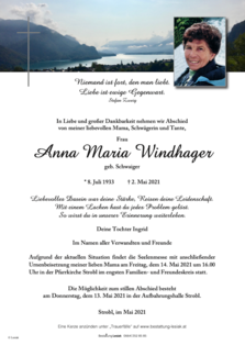 Anna Maria Windhager