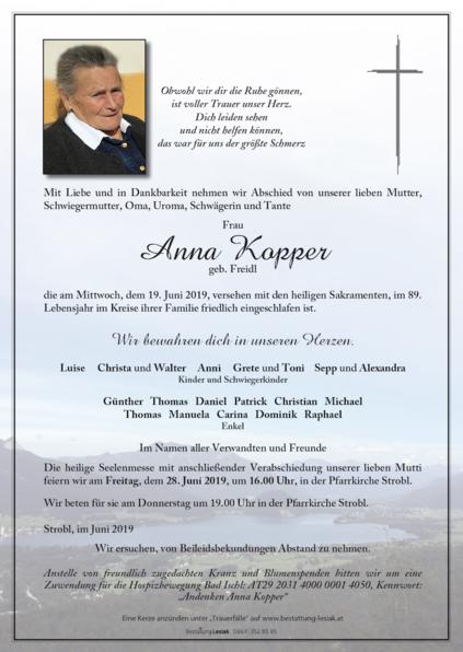 Anna Kopper