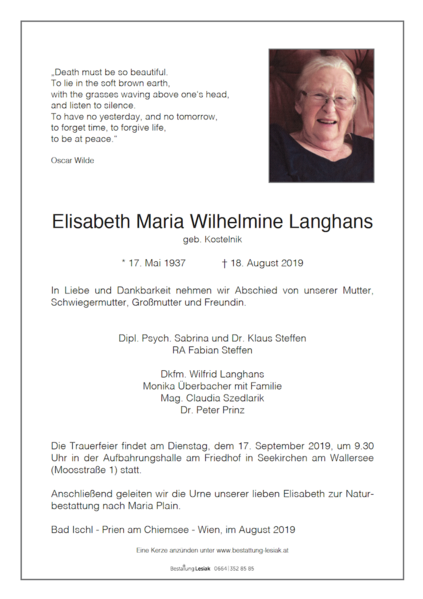 Elisabeth Langhans