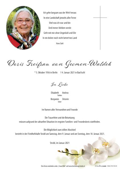 Doris Gecmen-Waldek