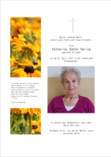 Katharina Haring